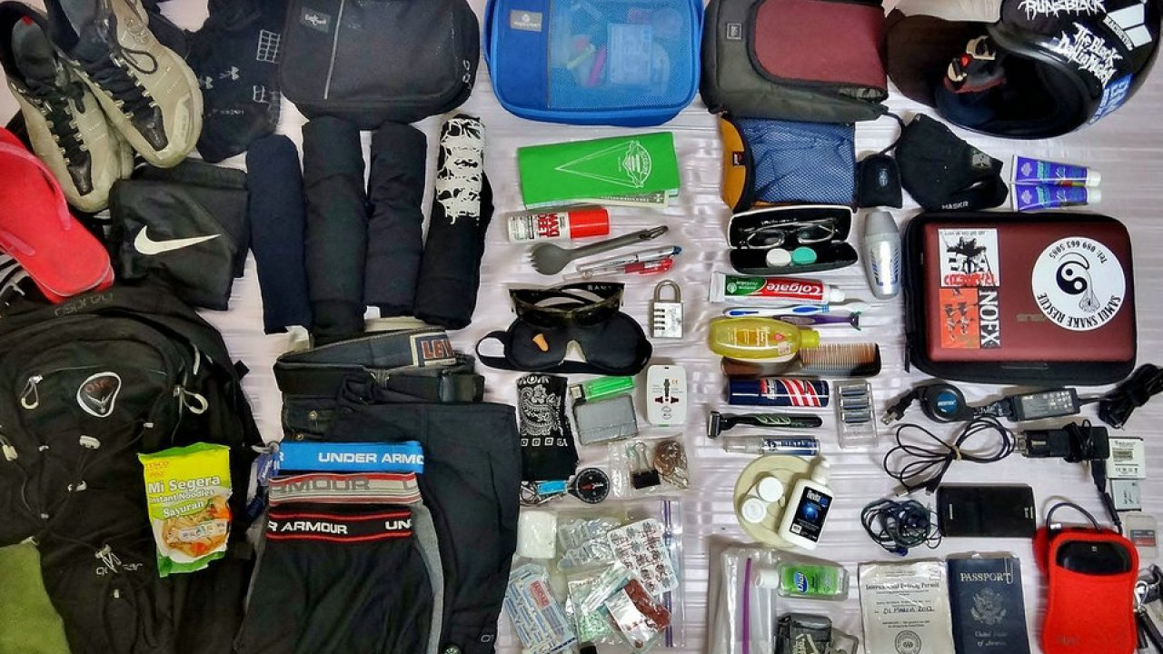 Les composants d'un sac à dos de randonnée